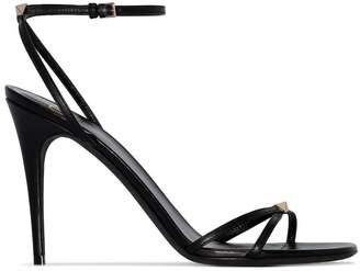 Valentino Garavani 100 stud embellished strappy leather sandals