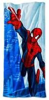 Spiderman Beach Towel Blue - (28 x 58 inches) - Marvel®;