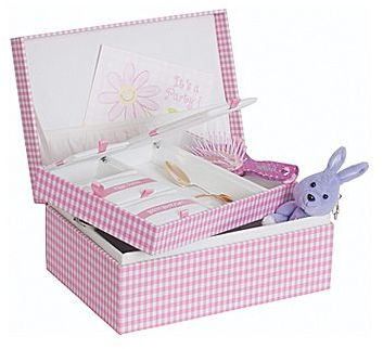 JCPenney Mele & Co. Baby Girl Keepsake Box