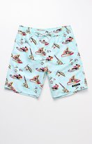 "Neff Cali Games Hot Tub 19"" Swim Trunks"