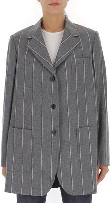 Thom Browne Shadow Stripe Sack Jacket