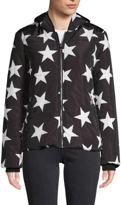Vigoss Star-Print Hooded Jacket