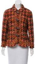 Rena Lange Wool & Silk-Blend Jacket