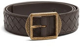 Bottega Veneta Intrecciato leather belt