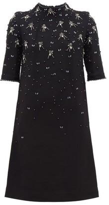 Goat Alexa Crystal-embellished Wool Dress - Black