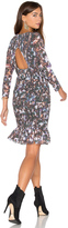 Twelfth Street By Cynthia Vincent Smocked Flounce Dress