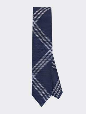 Tommy Hilfiger Check Print Silk Tie
