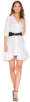 Asilio Super Boom Dress in White. - size L (also in XS)