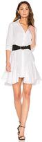 Asilio Super Boom Dress in White. - size L (also in )