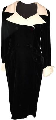 Jean Louis Scherrer Jean-louis Scherrer Black Velvet Dress for Women Vintage