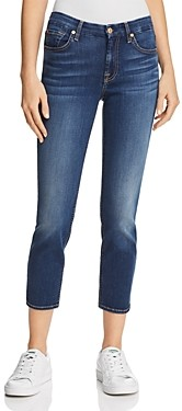 7 For All Mankind Kimmie Crop Jeans in Duchess