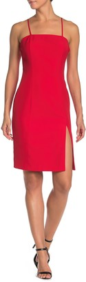 Lumiere Square Neck Sleeveless Dress