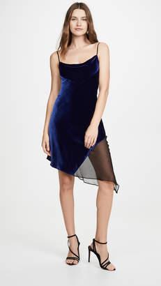 Kiki de Montparnasse Bias Cut Velvet Dress