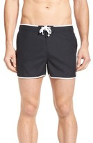 Original Penguin Men's Earl Fixed Waist Swim Trunks