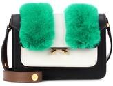 Marni Trunk Mini leather shoulder bag