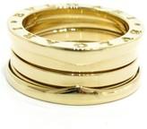 Bulgari B-Zero1 18K Yellow Gold Band Ring Size 5