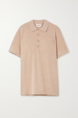 HOLZWEILER Sagveien Cotton-pique Polo Shirt - Beige