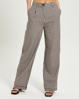 Thumbnail for your product : Subtitled Women's Pants - Linen Slouch Pants - Size One Size, L at The Iconic