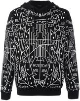 Marcelo Burlon County of Milan 'Salomon' hoodie - men - Cotton - XL