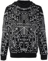 Marcelo Burlon County of Milan 'Salomon' hoodie - men - Cotton - XXS