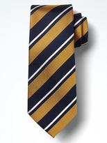 Banana Republic Classic Stripe Silk Nanotex® Tie