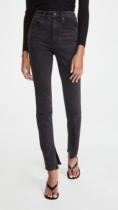 Alexander Wang Stovepipe Dipped Back Jeans