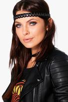 Boohoo Eliza Eyelet Detail Headband