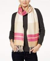 Echo Reversible Plaid Scarf