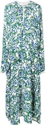 Victoria Victoria Beckham long sleeve drape dress
