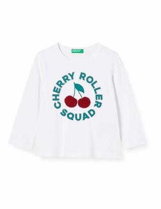 Benetton Baby Girls M/l Longsleeve T-Shirt