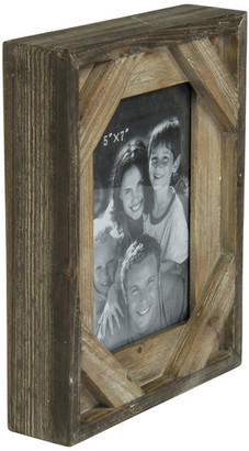 "American Mercantile Wood Photo Frame, 5""x7"""