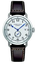 Hamilton Khaki Navy Pioneer Auto Stainless Steel & Leather Strap Watch