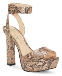 Jessica Simpson Maicie Platform Dress Sandals Women's Shoes