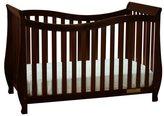 Mikala Mikaila Ella 4-in-1 Convertible Crib with Guardrail