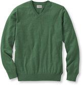 L.L. Bean Cotton Cashmere Sweater, V-Neck