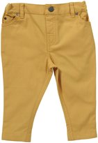 Little Green Radicals Harlequin Jeans (Baby) - Sunflower-0-3 Months