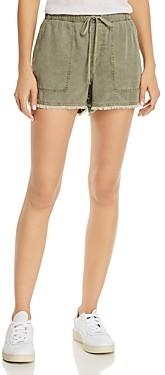 Bella Dahl Frayed Drawstring Shorts