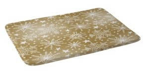 Deny Designs Heather Dutton Snow Squall Guilded Bath Mat Bedding