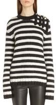 Loewe Women's Stripe Wool & Alpaca Sweater