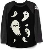 Gap Halloween glow-in-the-dark baseball tee