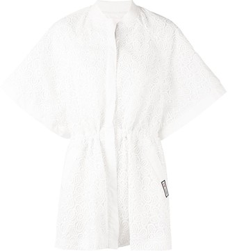 Giamba lace embroidered kimono jacket