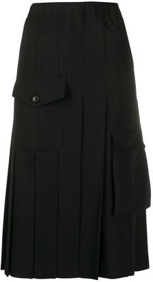 Comme des Garçons Comme des Garçons Multi-Pocket Pleated Skirt