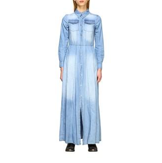 Kaos Long Denim Dress