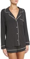 Eberjey Women's Sleep Chic Short Pajamas