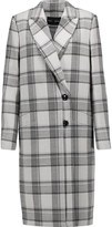 Proenza Schouler Checked wool-blend coat