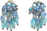 One Kings Lane Vintage Hobé Glass Bead Earrings