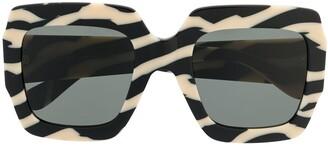 Gucci GG0178S oversize-frame sunglasses
