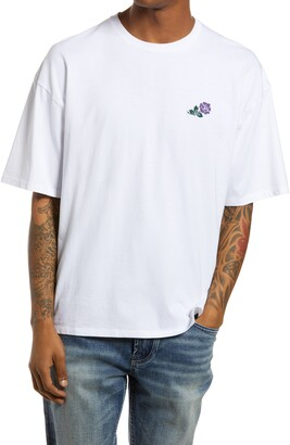 Saturdays NYC Rose New Embroidered Graphic Tee