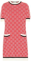 Gucci GG wool and cotton knit dress