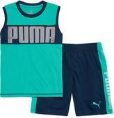 Puma 2-pc. Muscle Tee with Shorts Set - Preschool Boys 4-7